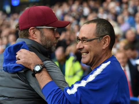 Maurizio Sarri uses Jurgen Klopp to defend Chelsea's poor results