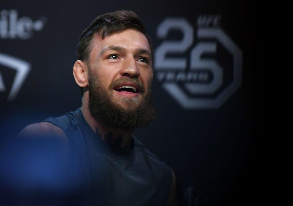 UFC star Conor McGregor brushes off Tony Ferguson's dig