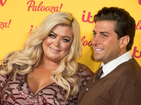 Gemma Collins kicks boyfriend James Argent out after he tells her: 'You've got more rolls than Greggs'