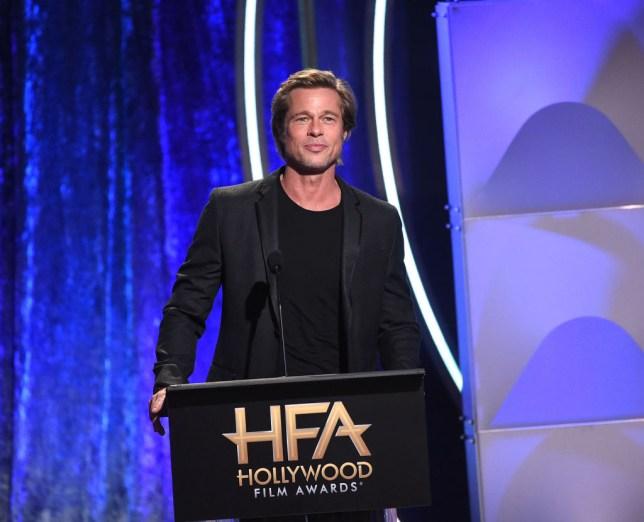 Brad Pitt at Hollywood Film Awards