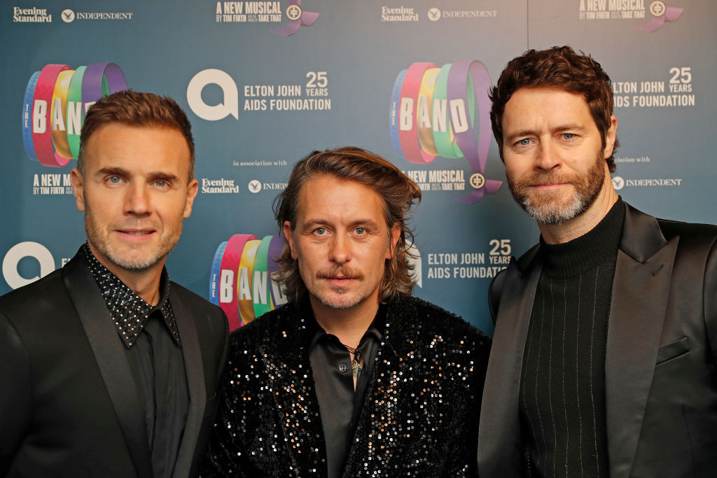 Gary Barlow says Take That will perform in their 80s just like The Rolling Stones