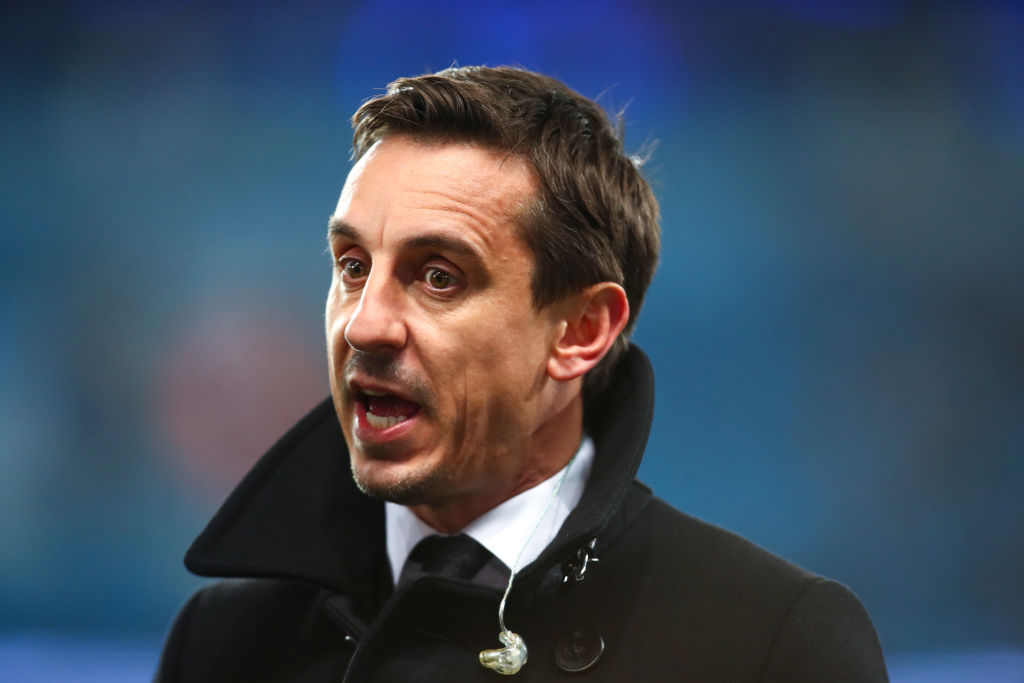 Gary Neville predicts Maurizio Sarri's Chelsea future following defeat to Man City
