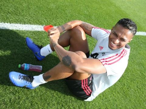 Ole Gunnar Solsjkaer reveals Manchester United captain Antonio Valencia suffered setback in training