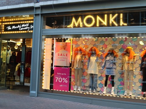 Monki upsets shoppers by joking about being 'triggered'