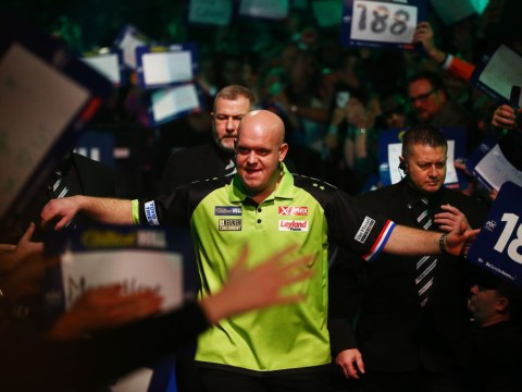 Michael van Gerwen typically confident ahead of Rob Cross clash in the Premier League