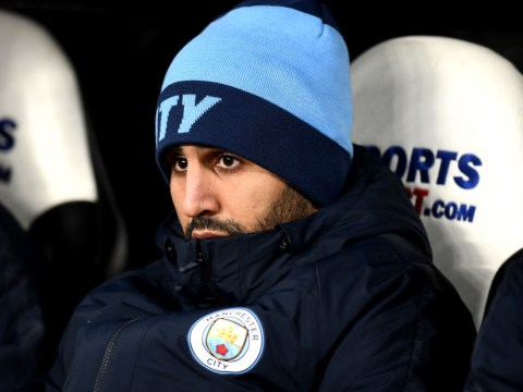 Manchester City boss Pep Guardiola 'sad' he can't give Riyad Mahrez more playing time