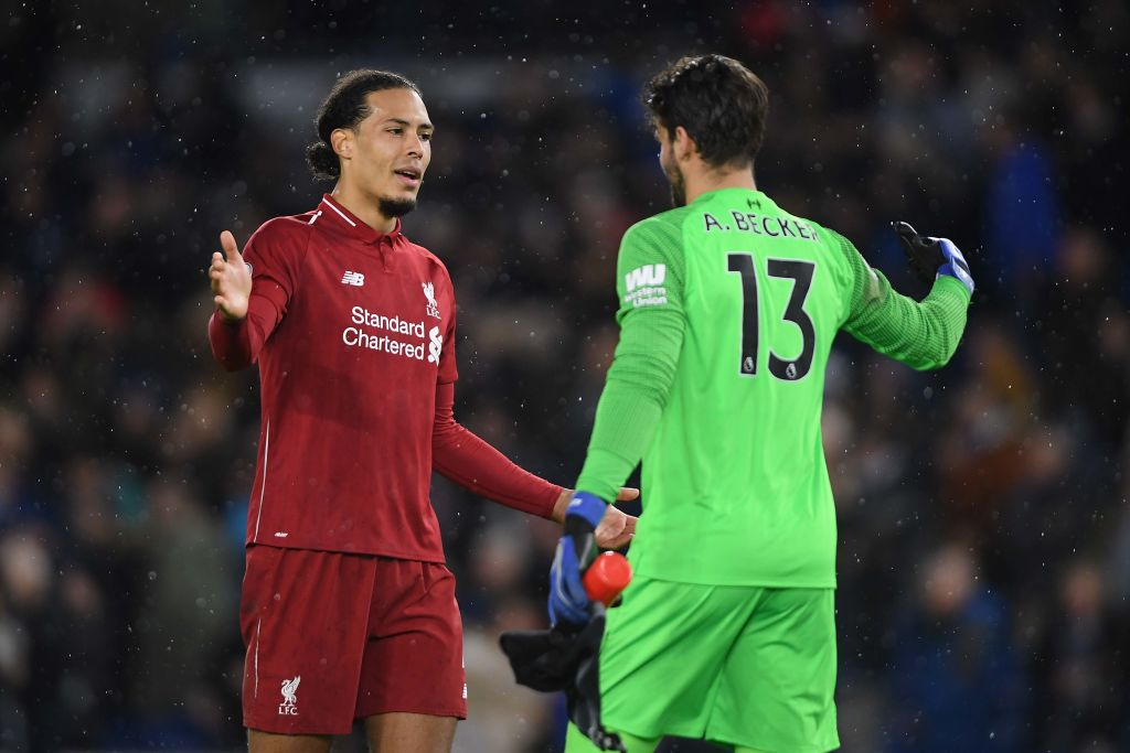 Alisson Becker insists suspended Virgil van Dijk will not be a loss for Liverpool against Bayern Munich
