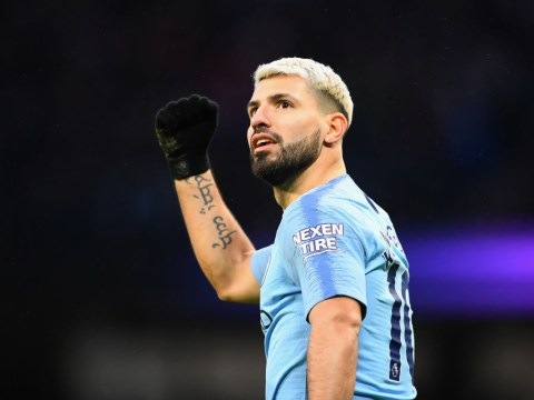 Sergio Aguero injury could keep him out of Man City's Champions League clash with Tottenham