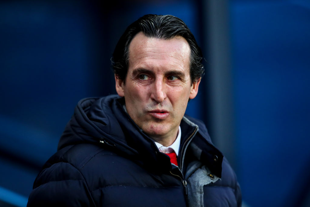 Unai Emery praises two Arsenal players after Manchester City defeat