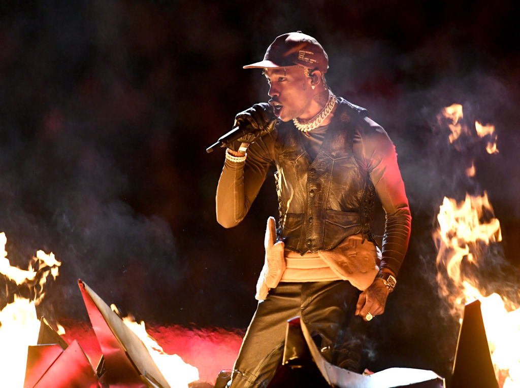 Travis Scott swearing annoys Super Bowl halftime show viewers as performance is muted