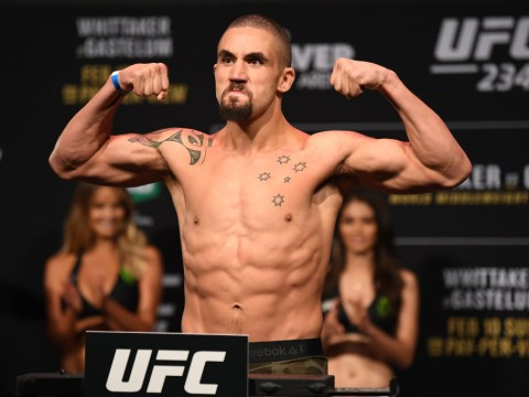 Robert Whittaker says injury that kept him out of UFC 234 was 'potentially fatal'