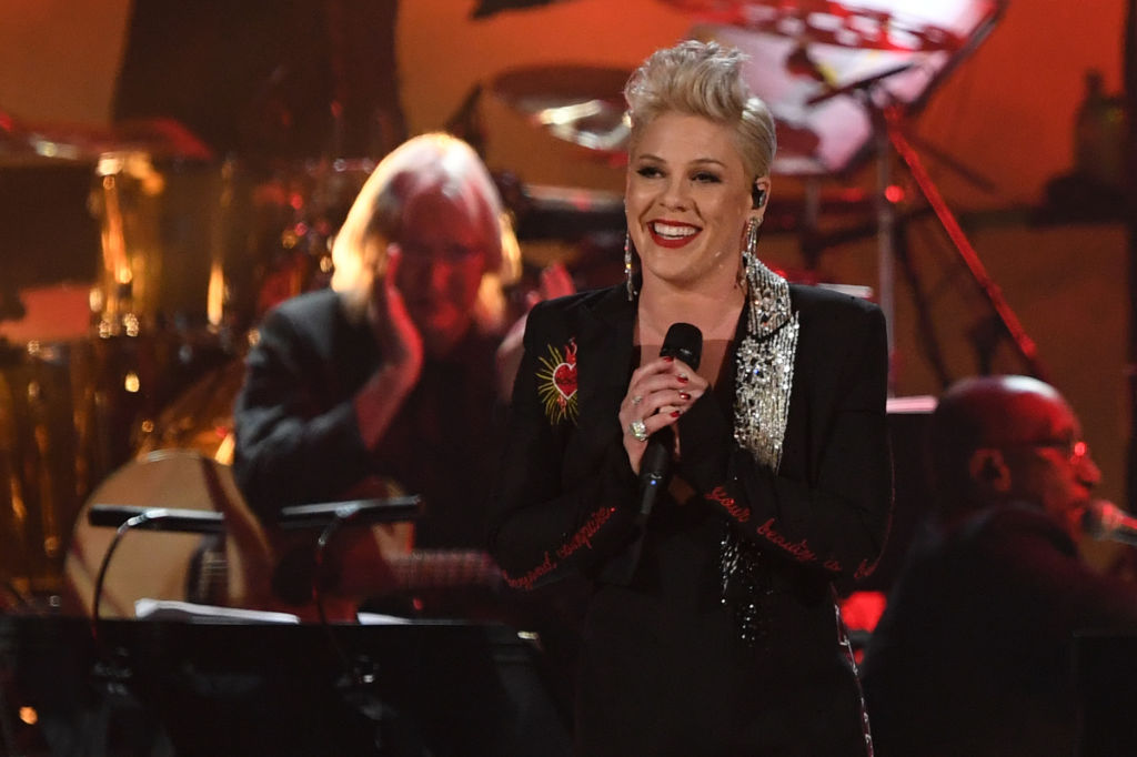 Pink loses out on her 20th Grammy nod but proves she definitely isn't a bitter loser
