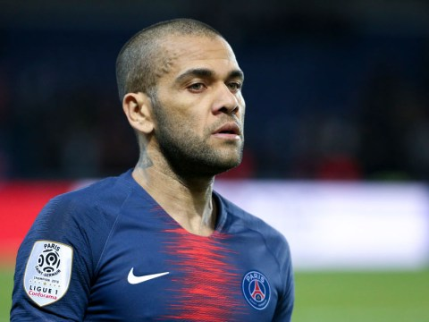 Dani Alves lining up Premier League move when Paris Saint-Germain deal expires