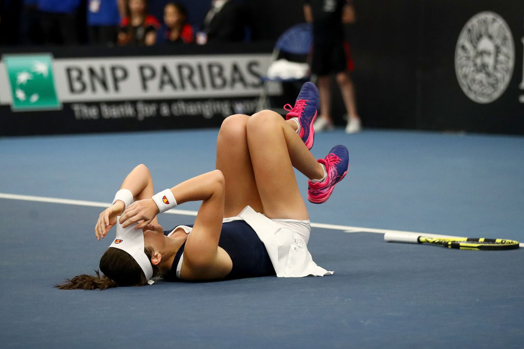 Johanna Konta reveals she suffered 'out of body' experience after Fed Cup collapse
