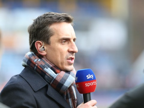 Gary Neville reveals the one thing which may cost Liverpool the Premier League title