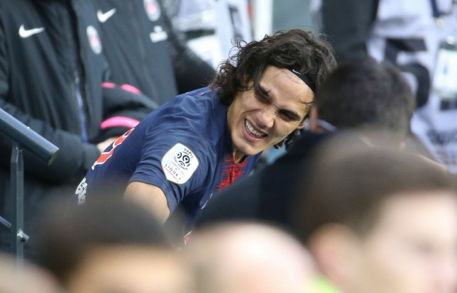 PSG's Edinson Cavani expected to miss Manchester United game with thigh injury