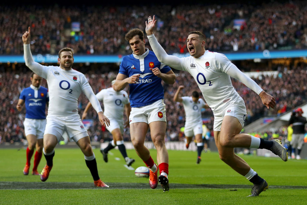 England thrash France 44-8 to secure Six Nations victory at Twickenham