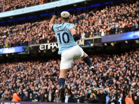 Sergio Aguero joins elite club of Premier League legends with Chelsea hat-trick