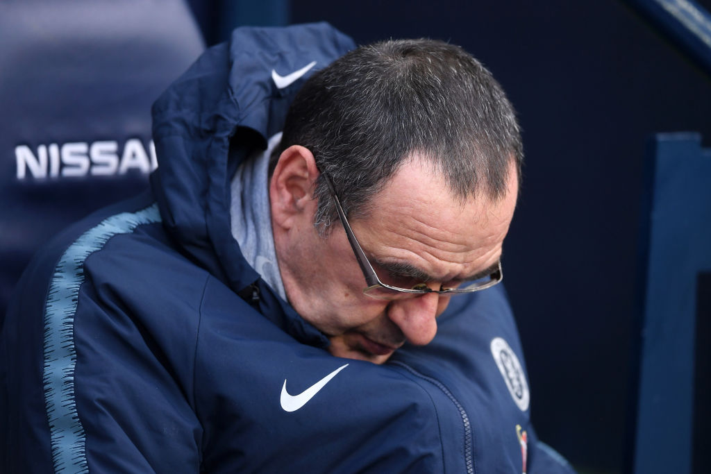 Maurizio Sarri could be sacked by Chelsea and the club are eyeing Steve Holland to replace him