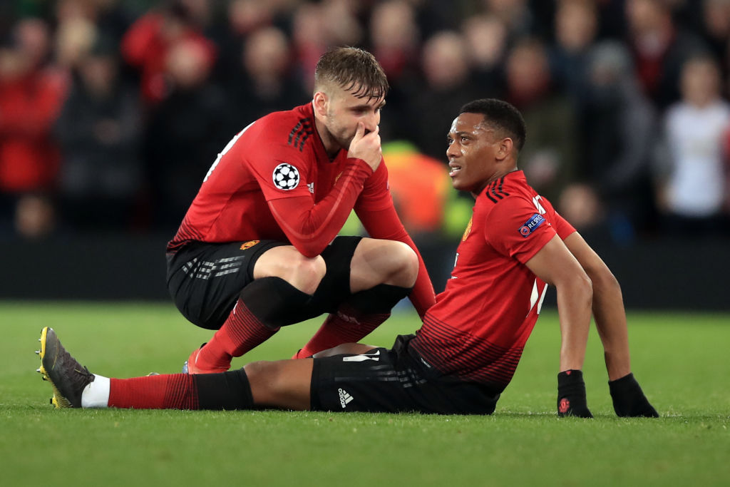 Ole Gunnar Solskjaer provides injury updates on Anthony Martial and Jesse Lingard after PSG defeat