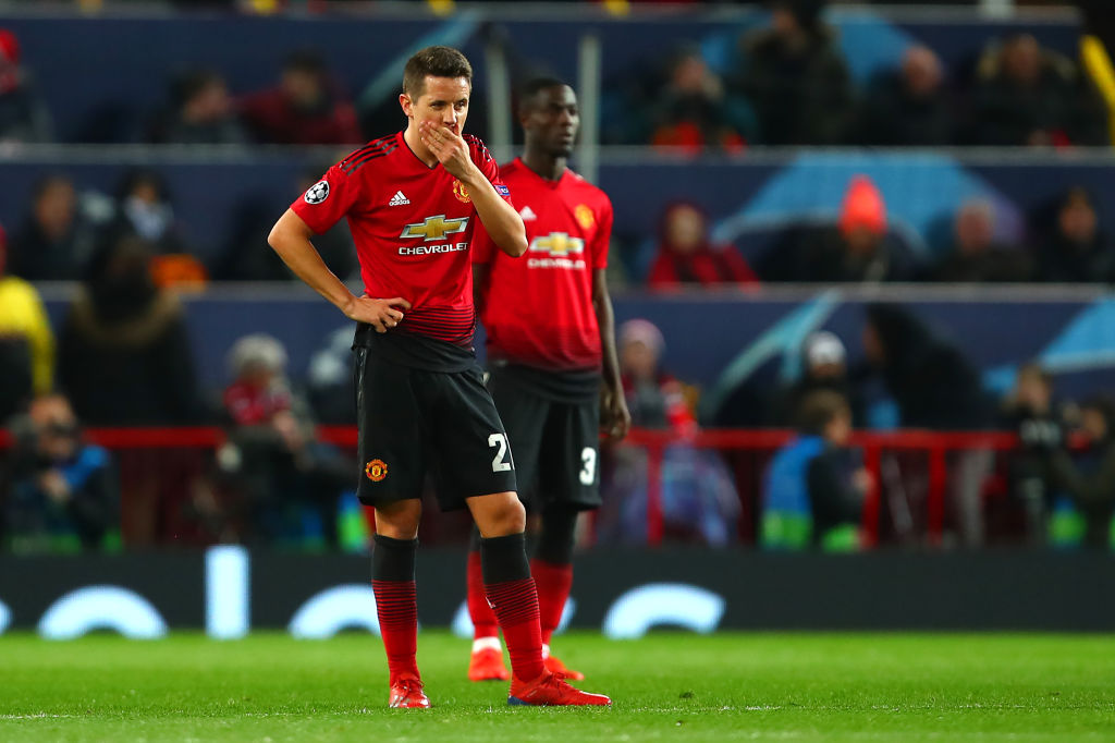Ander Herrera makes 'promise' to Manchester United fans after PSG defeat
