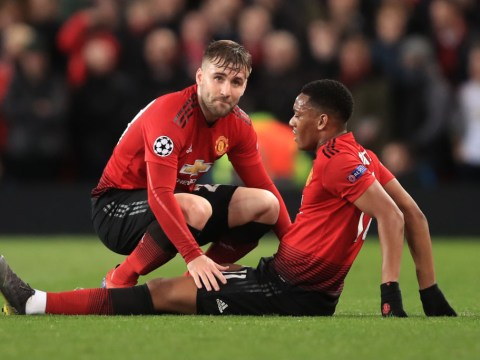 The Manchester United games Anthony Martial and Jesse Lingard will miss through injury