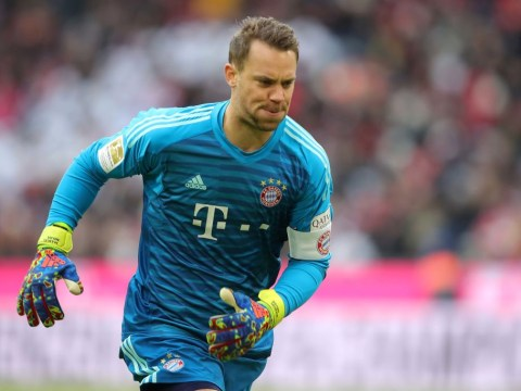 Manuel Neuer expects to recover from injury in time to face Liverpool in the Champions League