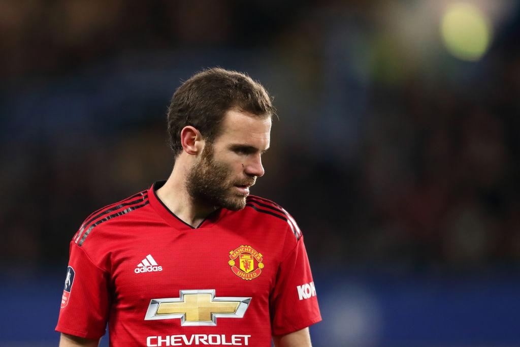 Juan Mata supplies update on the injury he suffered in Man Utd's draw vs Liverpool