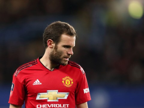 Juan Mata supplies update on the injury he suffered in Man Utd's draw vs Liverpool