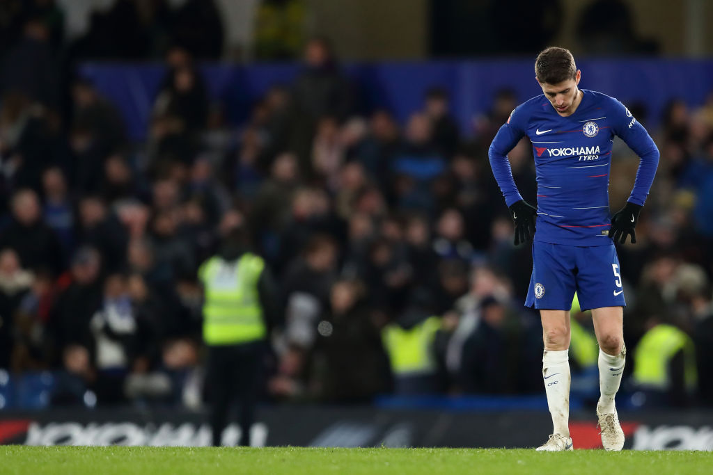Chelsea fans boo Jorginho after he comes on as a substitute during Malmo win