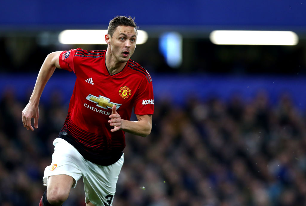 Why is Nemanja Matic not playing for Manchester United against Liverpool?
