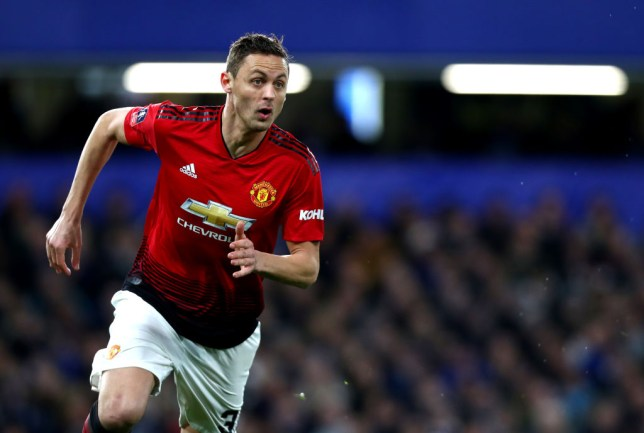 41206561c Nemanja Matic is out of the Man Utd vs Liverpool clash (Picture  Getty  Images)