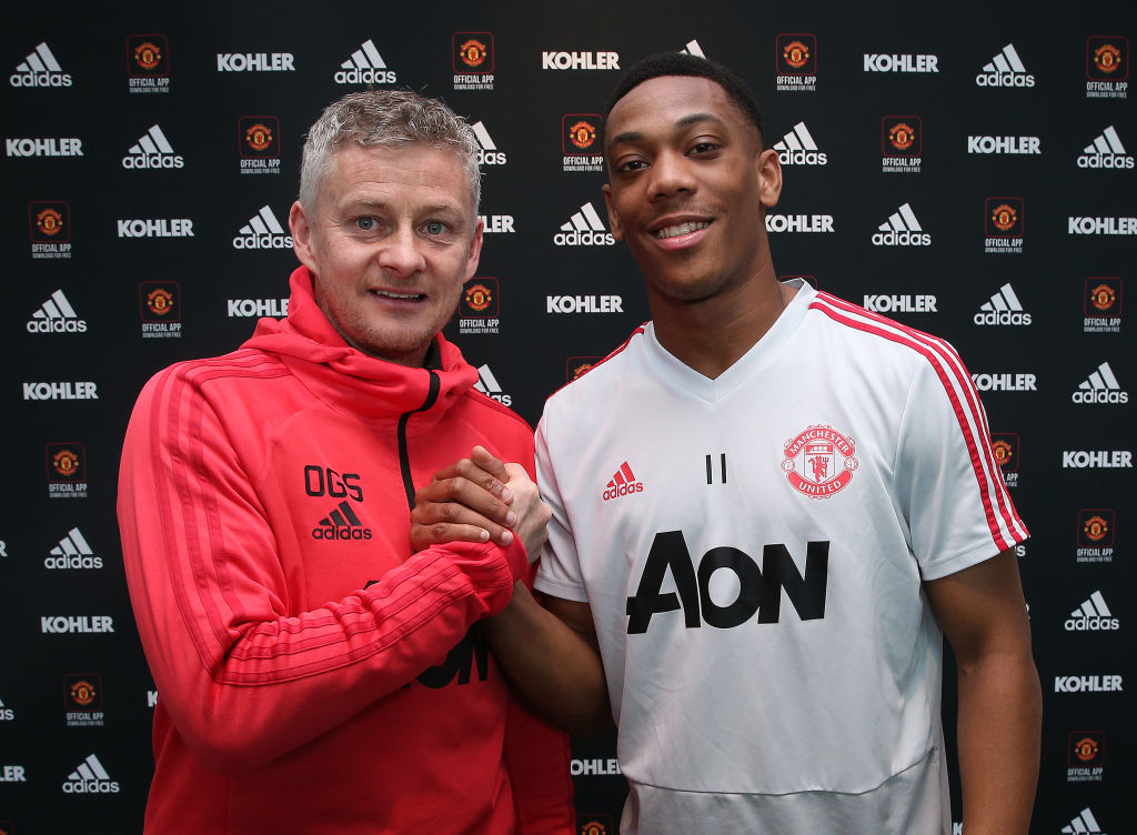 Gary Neville and Paul Scholes react to Anthony Martial signing new Manchester United contract