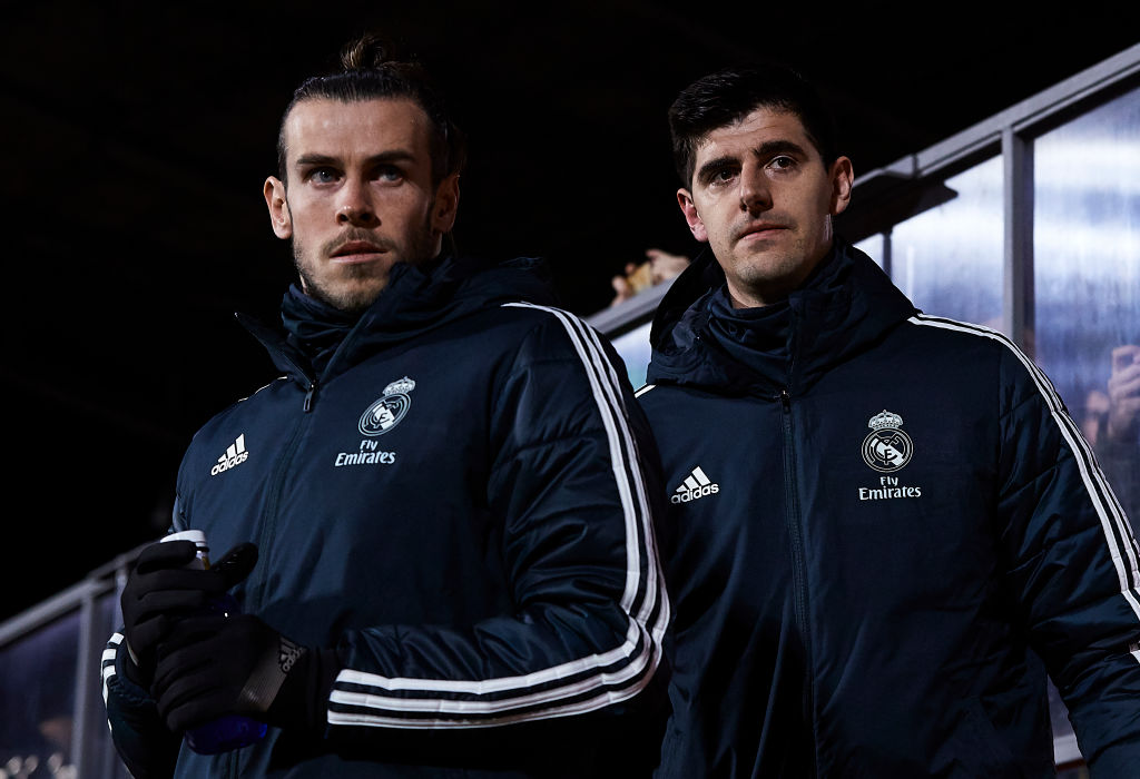 Thibaut Courtois criticises Gareth Bale for his behaviour at Real Madrid