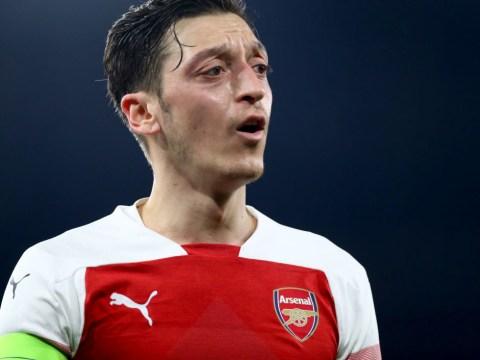 Unai Emery rates Mesut Ozil's performance in Arsenal's victory over BATE Borisov