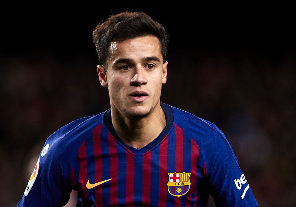 Barcelona president sends message to Manchester United and Chelsea over Philippe Coutinho transfer