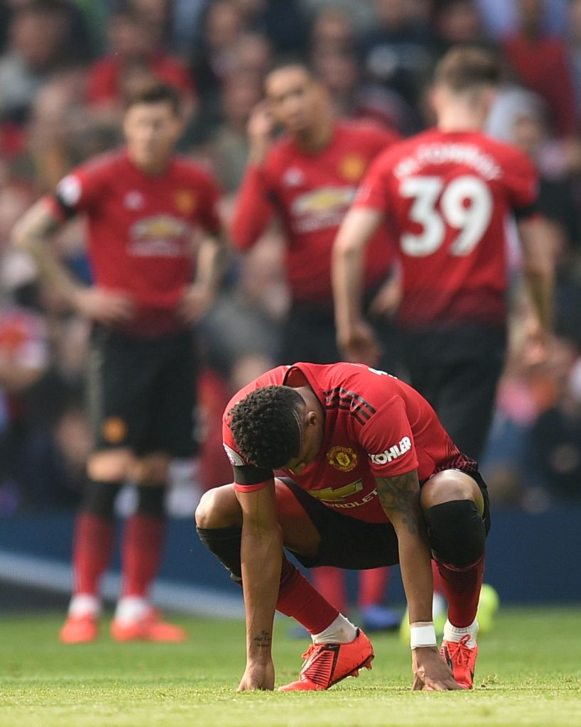 Manchester United fans rage with Michael Owen for urging Liverpool players to 'kick Marcus Rashford on the ankle'
