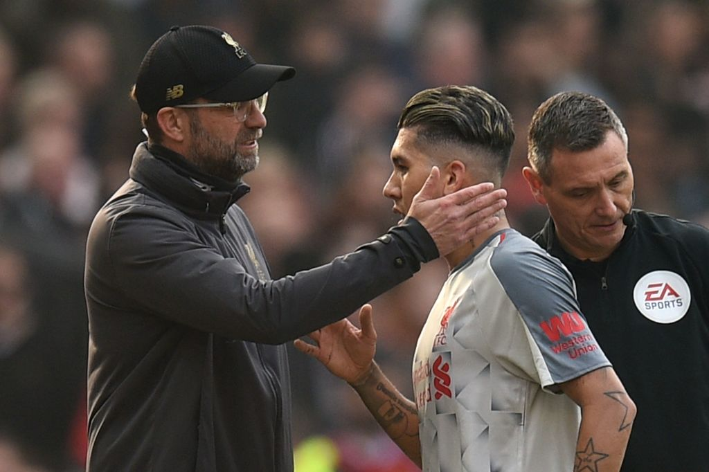 Jurgen Klopp reveals how Liverpool will cope if Roberto Firmino misses Watford game
