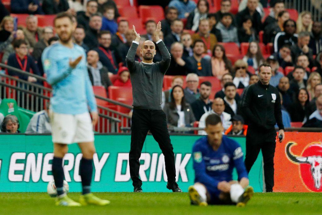 Pep Guardiola praises 'incredible' Chelsea duo Jorginho and N'Golo Kante