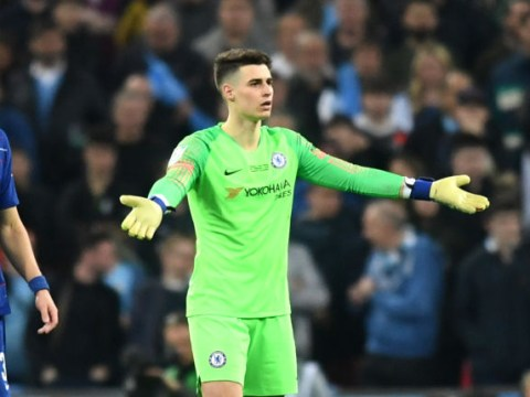 Kepa Arrizabalaga fined by Chelsea for Cup final row with Maurizio Sarri