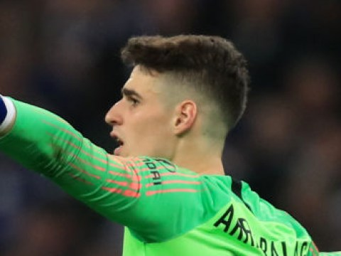 Maurizio Sarri drops Kepa to the bench for Spurs clash following Carabao Cup final antics