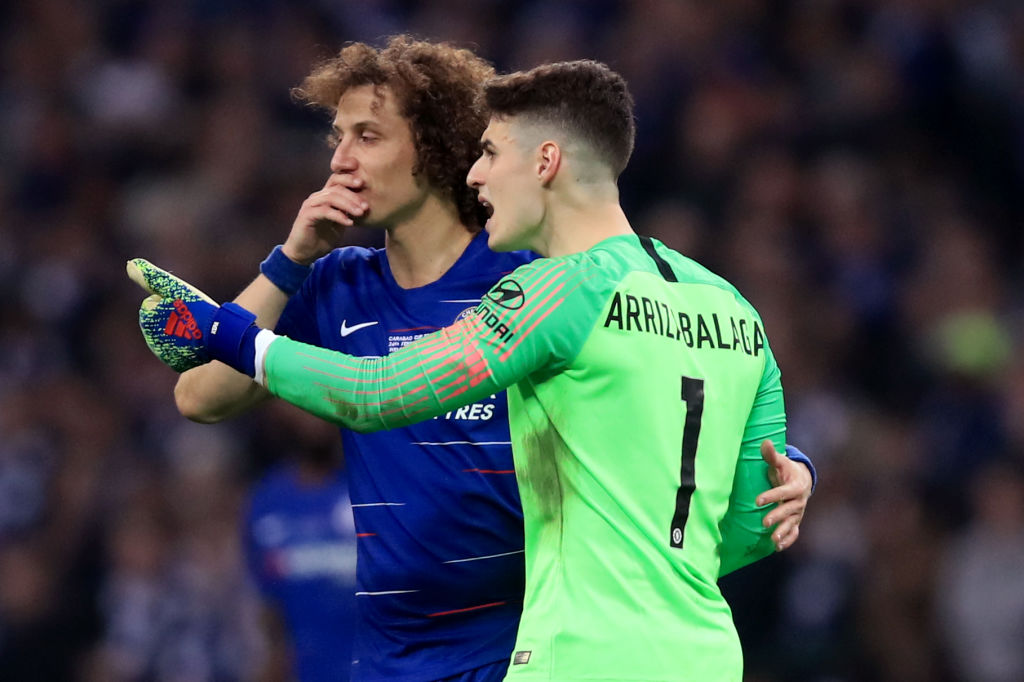 Michael Ballack hits out at Chelsea players after Kepa ignored Maurizio Sarri in Carabao Cup final defeat to Manchester City