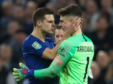 Maurizio Sarri reveals how Cesar Azpilicueta helped solve bust-up with Kepa in Chelsea dressing room