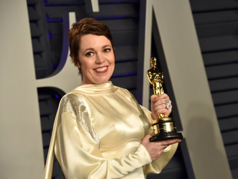 Olivia Colman celebrated her Oscars win in the best way possible and hired a party bus for a boozy ride with pals
