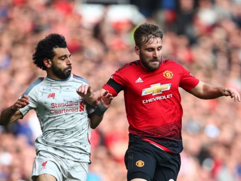 Luke Shaw sends message to Man Utd fans after stopping Mohamed Salah