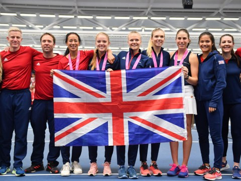 Fed Cup return to British soil a resounding success as Bath delivers shower of entertainment