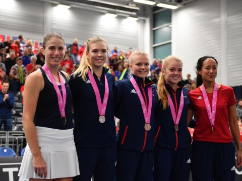 Great Britain handed home tie with Kazakhstan in Fed Cup World Group II play-off