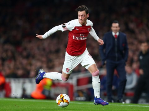 Unai Emery issues reality check to Mesut Ozil after first start since January against BATE Borisov