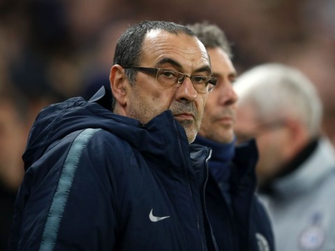 Maurizio Sarri aims dig at Arsenal to defend his Chelsea record