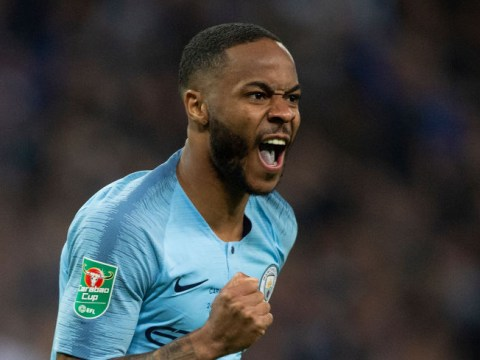 Raheem Sterling mocks Kepa and Chelsea fan after Manchester City's Carabao Cup final victory